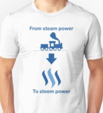 From steam to steem T-Shirt