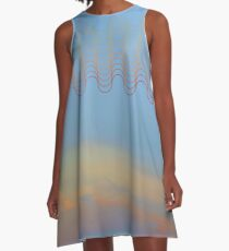 Cloud with Pattern 16 A-Line Dress
