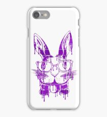 Genius Bun- Purple Brick Graffiti iPhone Case/Skin
