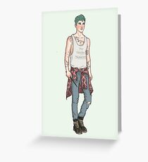 Teddy Lupin Greeting Card