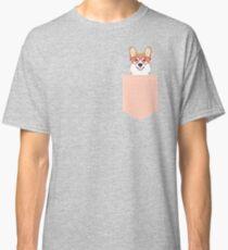 Corgi Love - Welsh Corgi funny nerd art dog lover gifts for pet owners customizable dog gifts Classic T-Shirt