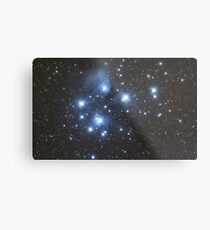Pleiades Star Cluster Metal Print