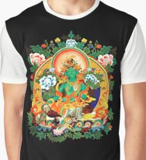 Buddha Buddhism Green Tara Graphic T-Shirt