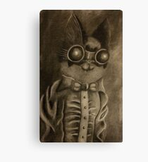 Mad Scientist Cat Canvas Print