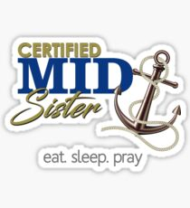 USNA - Sister Sticker