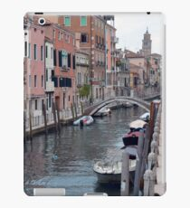 6 June 2017 Picturesque buildings near a canal in Venice, Italy iPad Case/Skin