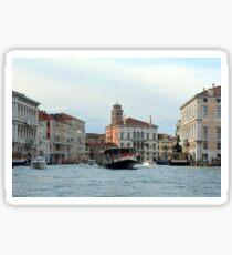 6 June 2017 Vaporetto on Canal Grande in Venice, Italy Sticker