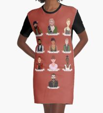 Natasha, Pierre, and the Great Comet of 1812 Graphic T-Shirt Dress
