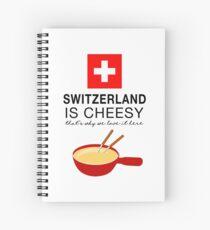 Swiss Fondue Spiral Notebook