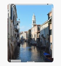 6 June 2017 Beautiful buildings near a canal in Venice, Italy iPad Case/Skin