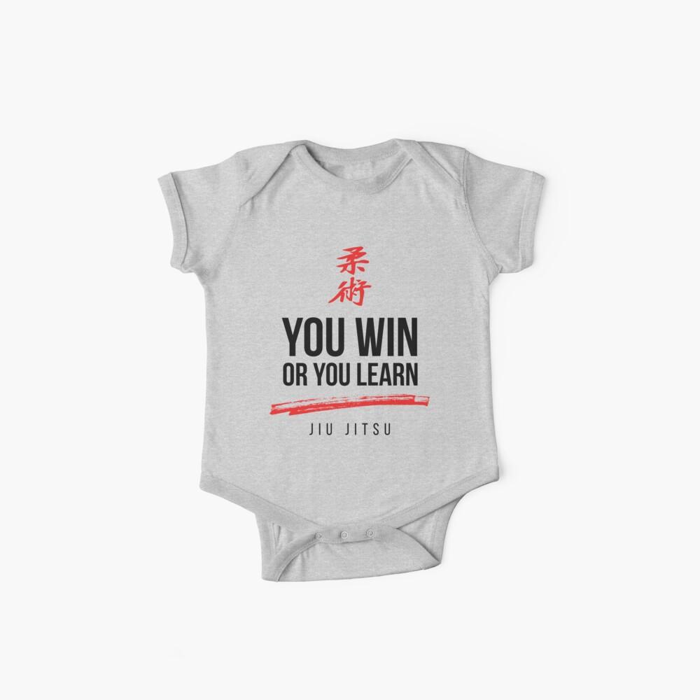 Du gewinnst oder lerne Dark Jiu Jitsu Baby Bodys