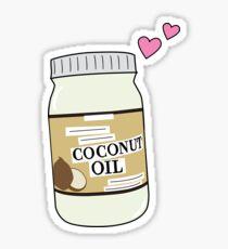 Coconut Oil Love Sticker