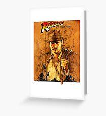 Indiana Jones Raiders of the Lost Ark Greeting Card