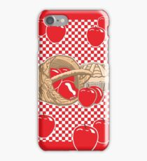 Basket of Red Delicious Apples and Pie iPhone Case/Skin