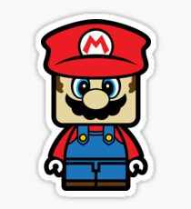 Super Chibi Mario Sticker