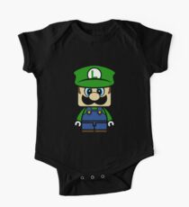 Super Chibi Luigi Kids Clothes