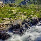 Path To Tryfan by Ian Mitchell