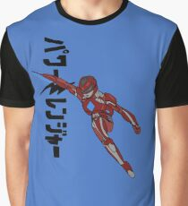 Red Ranger:Ready For Battle Graphic T-Shirt