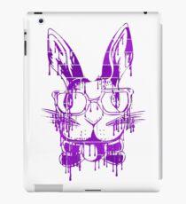 Genius Bun- Purple Brick Graffiti iPad Case/Skin