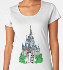 Princess and Castle Women's Premium T-Shirt