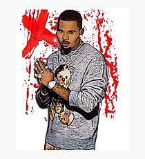 Chris Brown Art merchandise Photographic Print