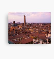 Bologna Sunset Glow Canvas Print