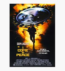 I Come In Peace (Dark Angel) Photographic Print
