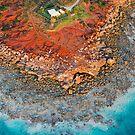 Gantheaume Point Aerial by Mieke Boynton