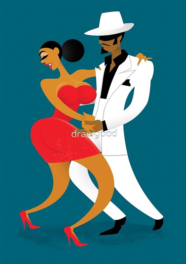 Latin Dancers by drawgood
