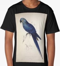 Illustrations of the family of Psittacidœ or parrots Edward Lear 1832 009 Long T-Shirt