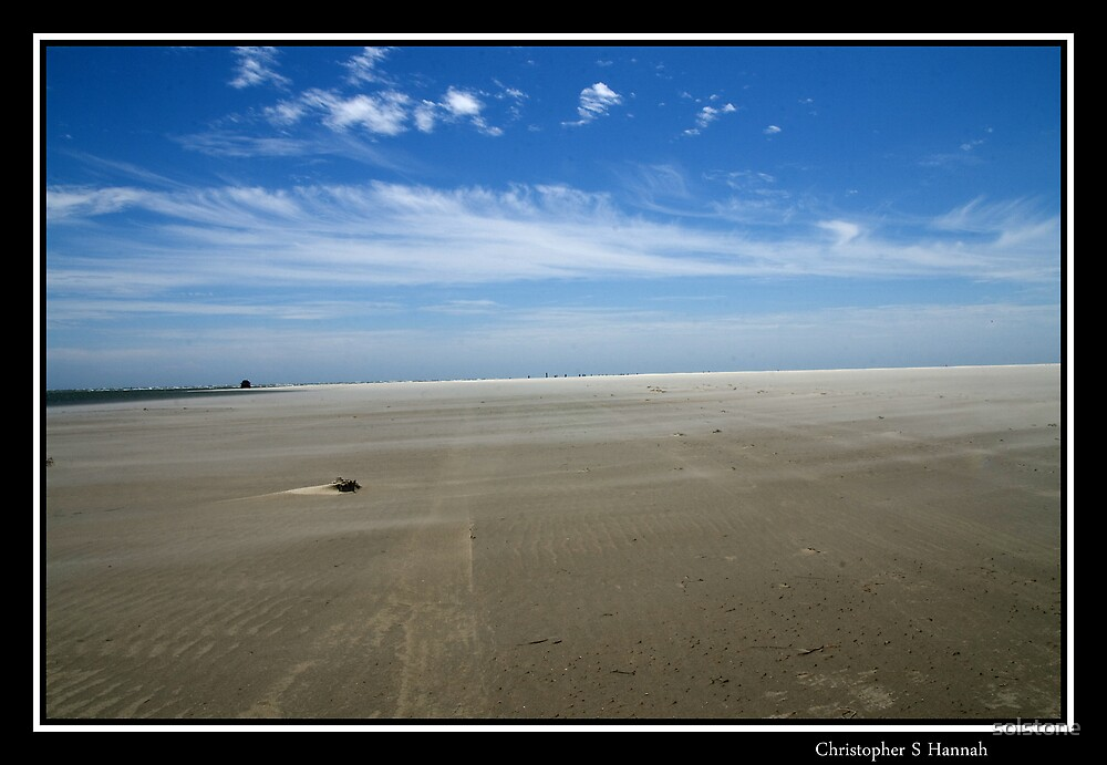 Ocracoke's North end Beach by solstone