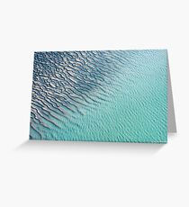 Ripples and Ridges Greeting Card