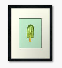 Dangerous Popsicles #redbubble #decor #buyart Framed Print