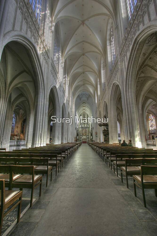 Antwerpen Cathedral by Suraj Mathew