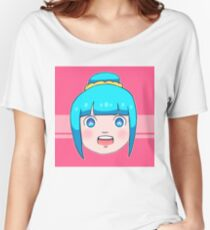 Blue Hair and Starry Eyes Women's Relaxed Fit T-Shirt