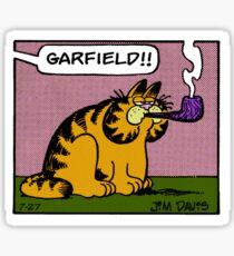 Lasagna Cat Sticker