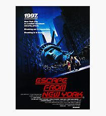 Escape From New York Photographic Print