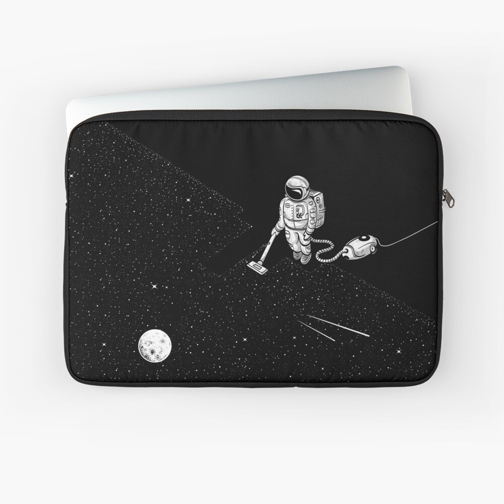 Space Cleaner Laptop Sleeve