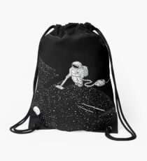 Space Cleaner Drawstring Bag