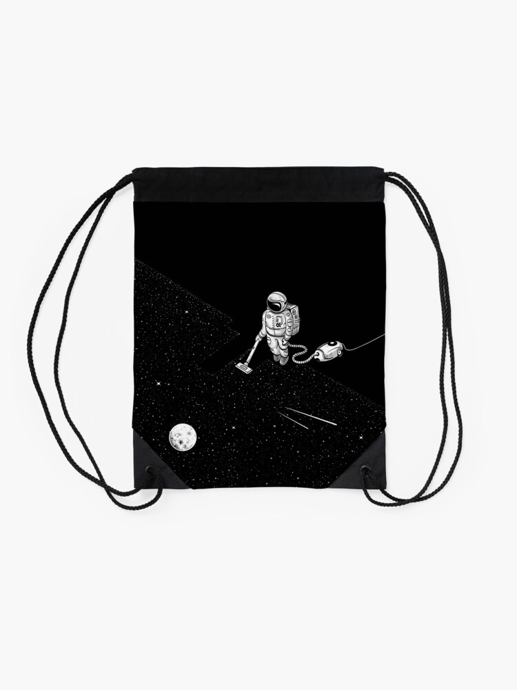 Alternate view of Space Cleaner Drawstring Bag
