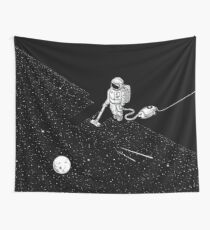 Space Cleaner Wall Tapestry