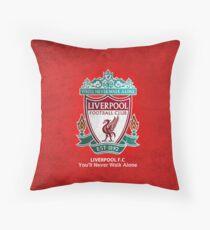 liverpool Throw Pillow