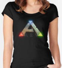 ARK SURVIVAL EVOLVED LOGO Women's Fitted Scoop T-Shirt