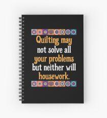 QUILTING Spiral Notebook