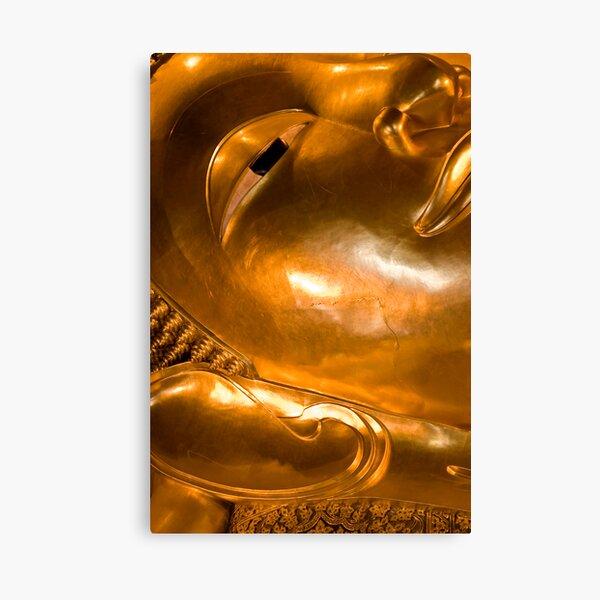 The big reclining Buddha at Wat Po, Bangok Canvas Print
