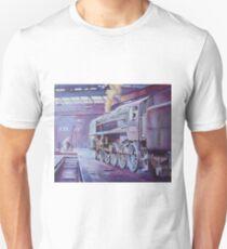 British Railways Standard 9F on Saltley turntable. Unisex T-Shirt
