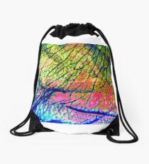 Web of lies Drawstring Bag