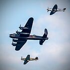 Battle Of Britain Memorial Flight - Sunderland Airshow 2017 by Andrew Pounder