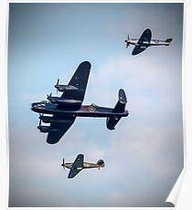 Battle Of Britain Memorial Flight - Sunderland Airshow 2017 Poster