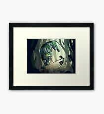 [VLD] Spirit of the forest  Framed Print